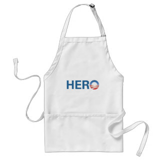 Obama is a HERO! Aprons