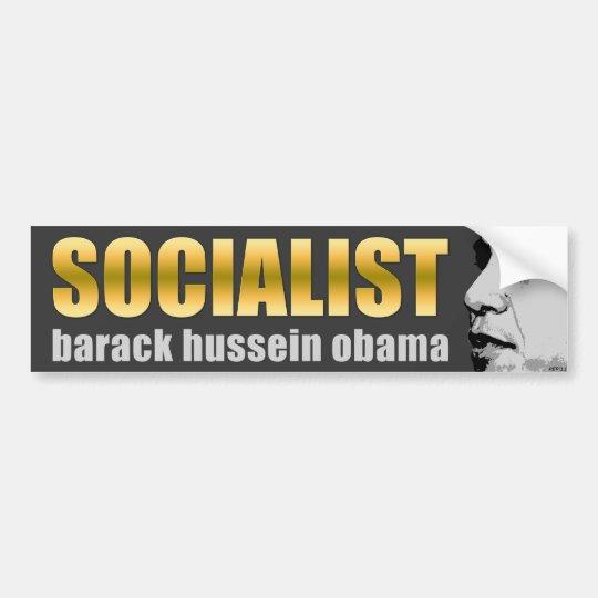 Obama Is A Socialist Bumper Sticker