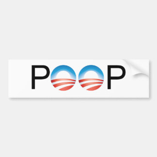 Obama is crap bumper sticker