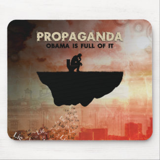Obama Is Full of Propaganda Mouse Pad