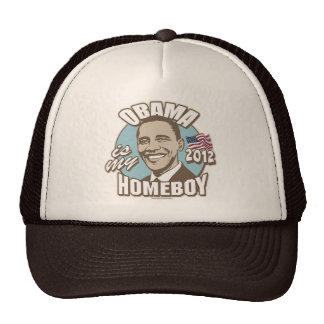 Obama is My Homeboy 2012 Gear Mesh Hats
