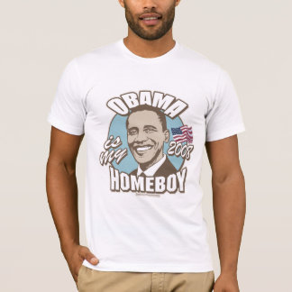 Obama Is My Homeboy Brown Shirt