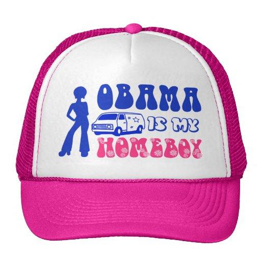 Obama Is My Homeboy Trucker Hats