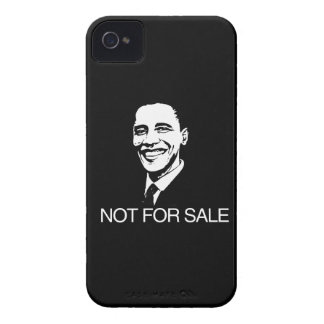 OBAMA IS NOT FOR SALE.png iPhone 4 Cases