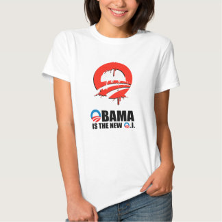 OBAMA IS THE NEW O.J SHIRT