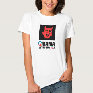 OBAMA IS THE NEW O.J T SHIRT