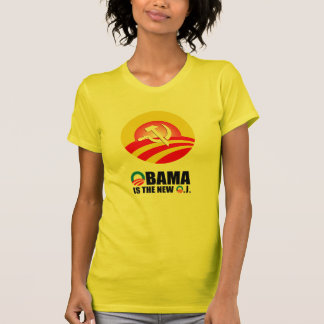 OBAMA IS THE NEW O.J T-SHIRTS