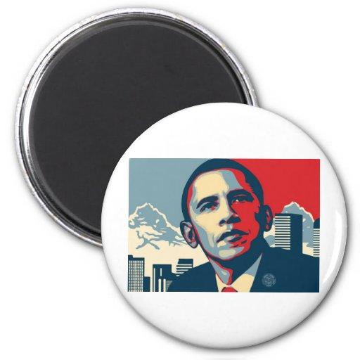 Obama Item 6 Cm Round Magnet