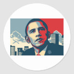 Obama Item Classic Round Sticker