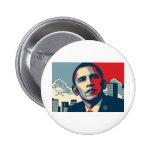 Obama Item Pinback Buttons