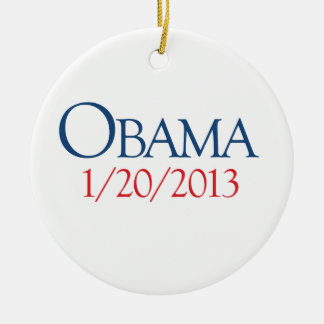 OBAMA JANUARY 20 -.png Christmas Ornament
