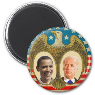 Obama JBiden Retro Magnet