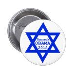 Obama Jewish Button