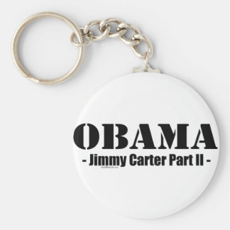 Obama - Jimmy Carter Part II Key Ring