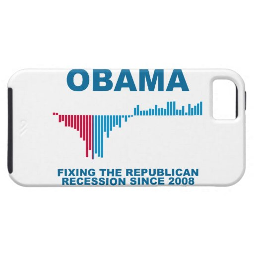 Obama Job Growth Graph iPhone 5 Cover
