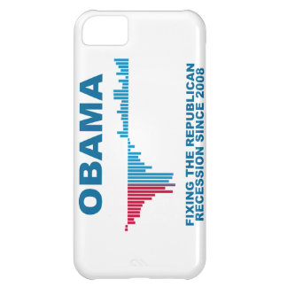 Obama Job Growth Graph iPhone 5C Covers
