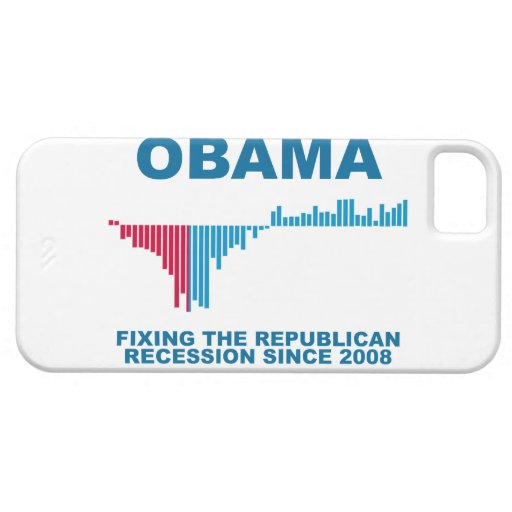 Obama Job Growth Graph iPhone 5 Case