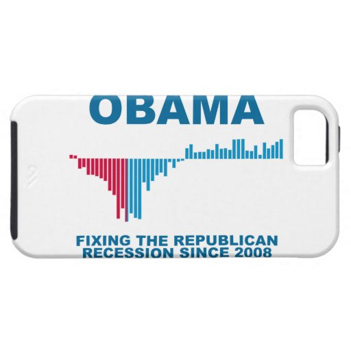 Obama Job Growth Graph iPhone 5 Cases