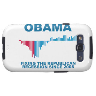 Obama Job Growth Graph Samsung Galaxy SIII Cases