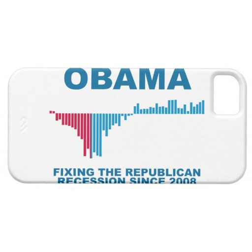 Obama Job Growth Graph iPhone 5 Covers