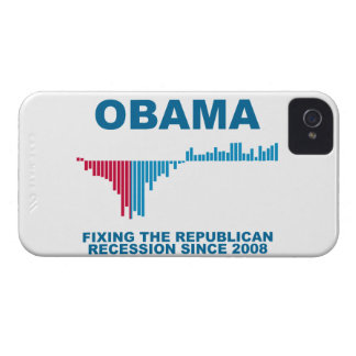 Obama Job Growth Graph iPhone 4 Covers