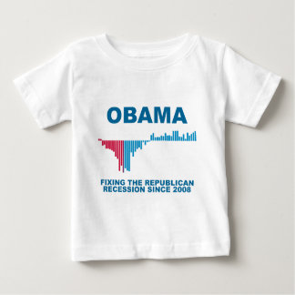 Obama Job Growth Graph Tshirts