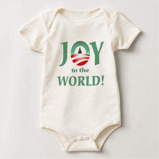 Obama joy to the world christmas onsie creeper