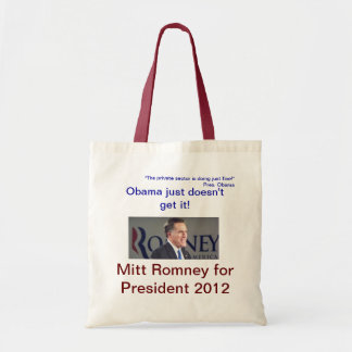 Obama just doesn't get it! bag