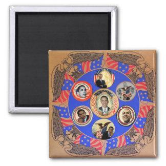Obama Kaleidoscope Magnet