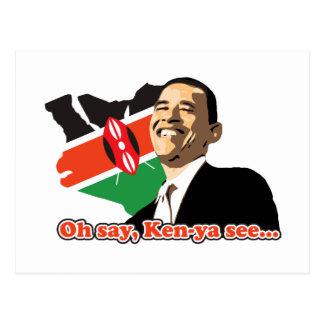 Obama Kenya Postcard