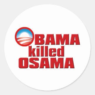 Obama Killed Osama copy Stickers