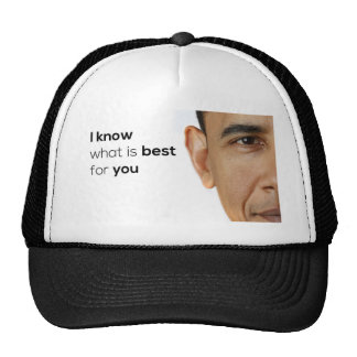 Obama Knows Best Hats