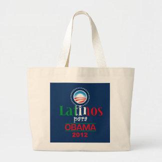 Obama LATINOS Tote Bag