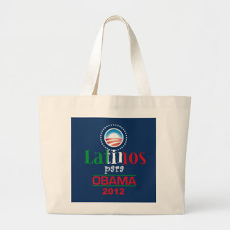 Obama LATINOS Jumbo Tote Bag