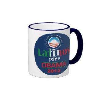OBAMA LATINOS COFFEE MUGS