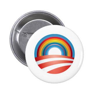 Obama LGBT 6 Cm Round Badge
