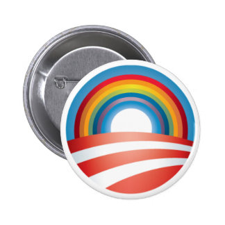 Obama LGBT Pinback Button
