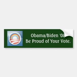 Obama LGBT bumper sticker