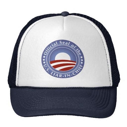 Obama Liar-in-Chief Hat