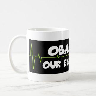 Obama lied basic white mug