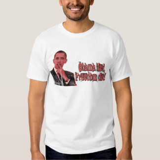 Obama Lied, Freedom Died T-shirt
