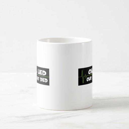 Obama lied coffee mugs