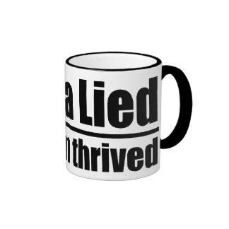 Obama Lied, Socialism Thrived Ringer Mug
