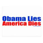 OBAMA LIES AMERICA DIES