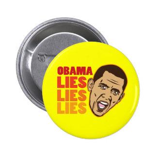 Obama Lies Lies Lies Button