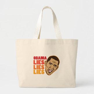 Obama Lies Lies Lies Canvas Bag