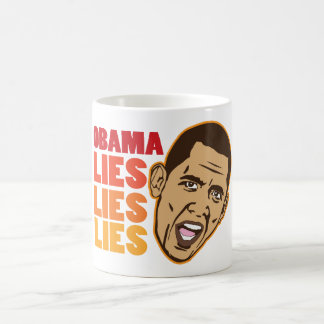 Obama Lies Lies Lies Coffee Mug