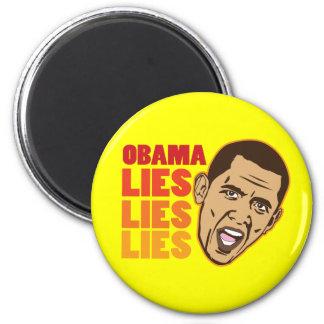 Obama Lies Lies Lies Fridge Magnets