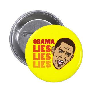 Obama Lies Lies Lies Pins