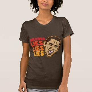 Obama Lies Lies Lies Tee Shirt